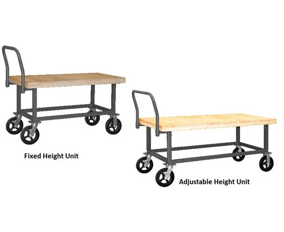 WORK HEIGHT PLATFORM TRUCKS