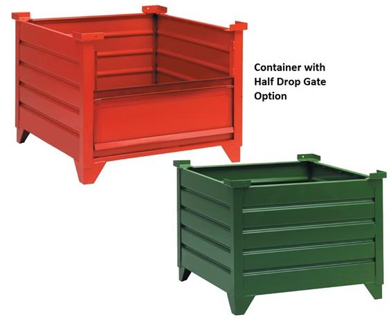 STEEL CORRUGATED CONTAINERS