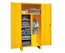 SPILL CONTROL CABINET WITH ADJUSTABLE SHELVES